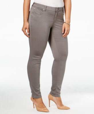Celebrity Pink Trendy Plus Size Colored Wash Skinny Jeans