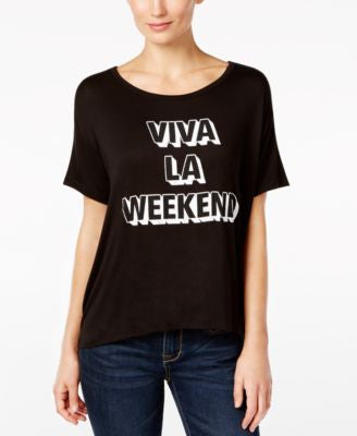 Retro Brand Viva La Weekend Graphic T-Shirt