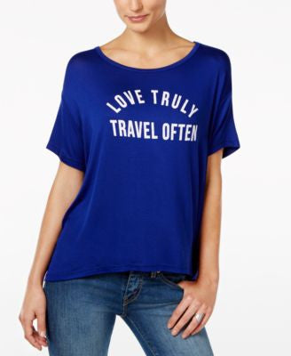 Retro Brand Love Truly Graphic T-Shirt