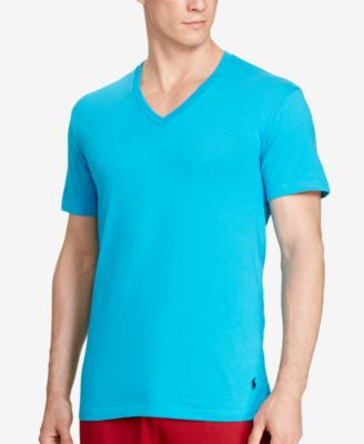 Polo Ralph Lauren Men's V-Neck T-Shirt 3-Pack