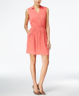 Alfani A-Line Shirtdress, Only at Vogily