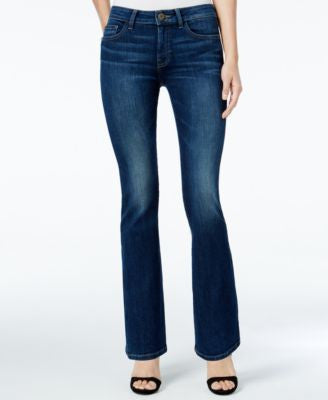 DL 1961 Bridget Instasculpt Dark Blue Wash Bootcut Jeans