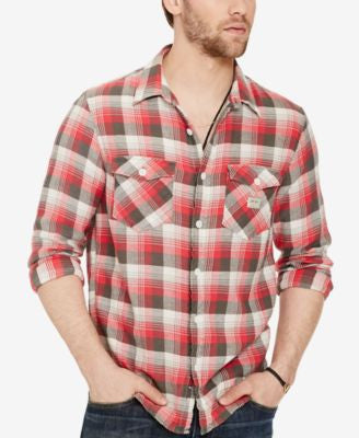 Denim & Supply Ralph Lauren Men's Plaid Twill Workshirt