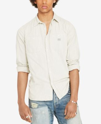 Denim & Supply Ralph Lauren Men's Striped Workshirt