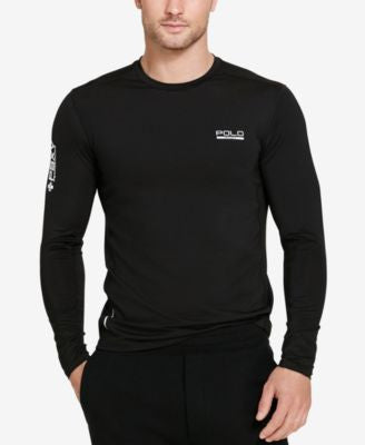 Polo Sport Men's Mesh-Panel Compression Shirt