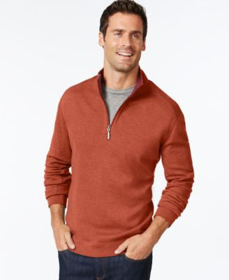 Tommy Bahama Flip Side Reversible Mock-Collar Sweater