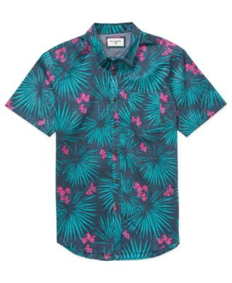 Billabong Men's Havannas Floral Short-Sleeve Shirt