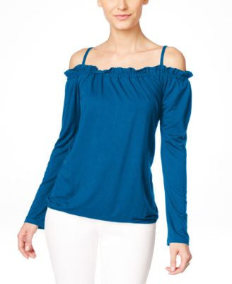 INC International Concepts Off-The-Shoulder Peasant Blouse, Only at Vogily