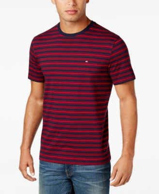 Tommy Hilfiger Men's Hunter Striped T-Shirt