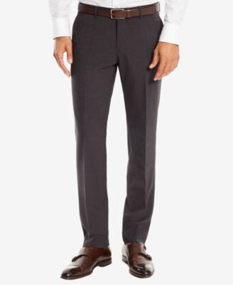 BOSS Slim-Fit Stretch Virgin Wool Dress Pants