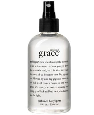 philosophy amazing grace all over body spritz, 8 oz.