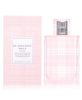 Burberry Brit Sheer Eau de Toilette Spray, 1.7 oz