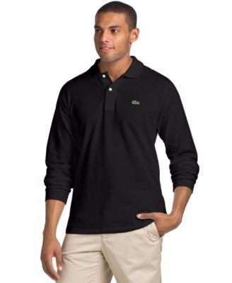 Lacoste Core Long Sleeve Pique Polo