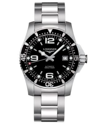 Longines Watch, Men's Stainless Steel Bracelet L36424566
