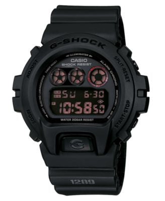G-Shock Men's Black Resin Strap Watch DW6900MS-1