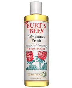 Burt's Bees Peppermint & Rosemary Body Wash, 12 fl oz