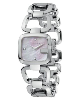 Gucci Watch, Women's Swiss Stainless Steel Bracelet 25mm YA125502