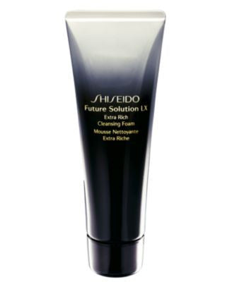 Shiseido Future Solution LX Extra Rich Cleansing Foam, 4.2 oz