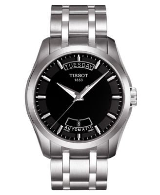 Tissot Watch, Men's Stainless Steel Bracelet T0354071105100