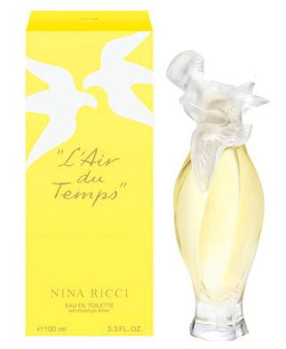 Nina Ricci L'Air du Temps Eau de Toilette Spray, 3.3 oz