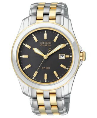 Citizen Men's Eco-Drive Two-Tone Stainless Steel Bracelet Watch 40mm BM6734-55E