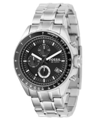 Fossil Men's Chronograph Decker Stainless Steel Bracelet Watch 40mm CH2600