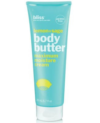 Bliss Lemon + Sage Body Butter 6.7 oz
