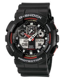 G-Shock Men's Analog Digital Black Resin Strap Watch GA100-1A4