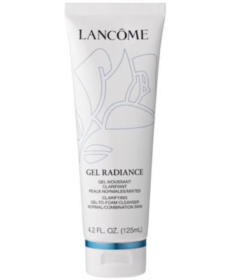 Lancôme Gel Radiance Clarifying Gel-to-Foam Cleanser, 4.2 fl oz.
