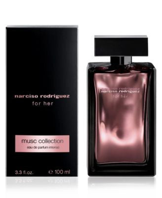narciso rodriguez musc collection eau de parfum intense, 3.3 oz