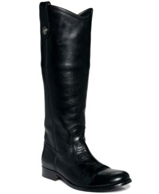 Frye Women's Melissa Button Wide Calf Boots