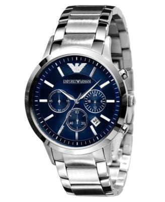Emporio Armani Watch, Men's Stainless Steel Bracelet AR2448