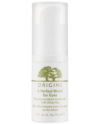 Origins A Perfect World for Eyes Firming moisture treatment with White Tea .5 oz.