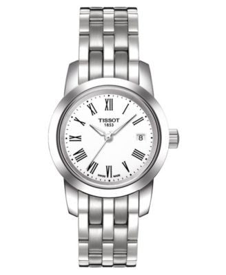Tissot Watch, Women's Swiss Classic Dream Stainless Steel Bracelet T0332101101300