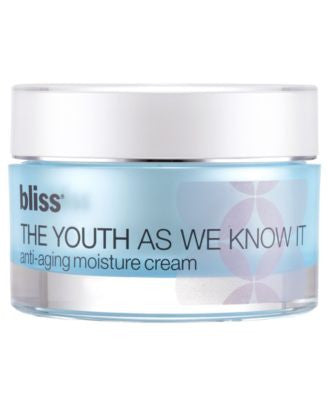 Bliss The Youth As We Know It Moisturizer
