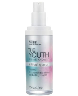 Bliss The Youth As We Know It Serum, 1 oz.