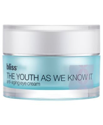 Bliss The Youth As We Know It Eye Cream