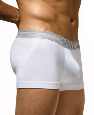 2(x)ist Men's Underwear, Dual Lifting Tagless Trunk