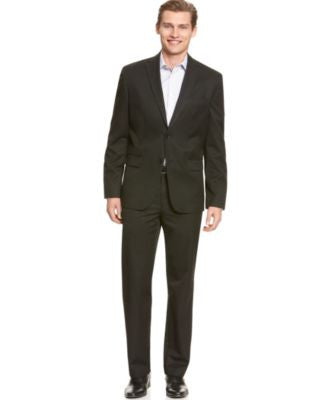Calvin Klein Men's Solid Blazer and Solid Pants