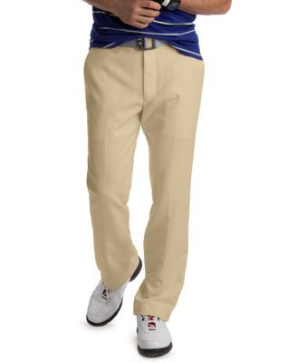 Izod Men's Flat Front Microfiber Golf Pants