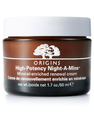 Origins High-Potency Night-A-Mins Mineral-enriched renewal cream, 1.7 oz