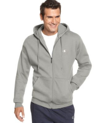 Champion Men's Fleece Full-Zip Hoodie
