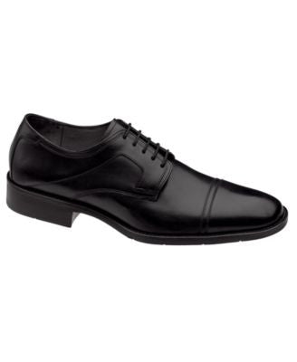 Johnston & Murphy Larsey Cap-Toe Oxfords- Extended Widths Available