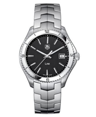 TAG Heuer Men's Swiss Stainless Steel Bracelet Watch 40mm WAT1110.BA0950