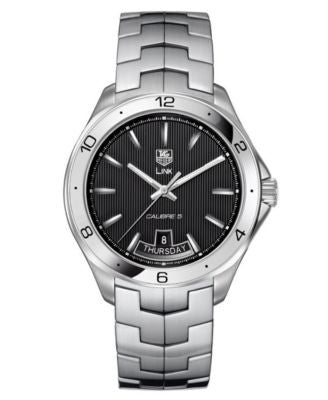TAG Heuer Men's Automatic Stainless Steel Bracelet Watch 42mm WAT2010.BA0951