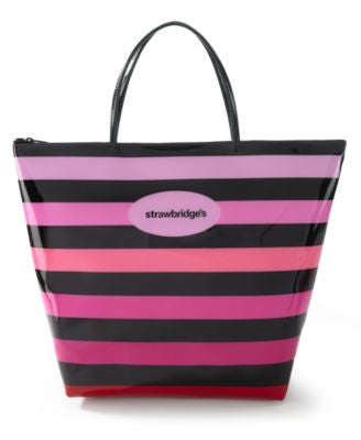 Strawbridge's Large Zip Tote