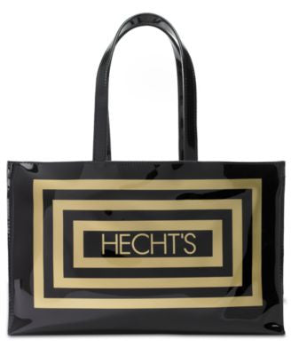 Hecht's Large Open Tote