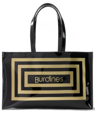 Burdines Large Open Tote
