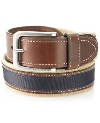 Tommy Hilfiger Canvas Casual Belt
