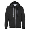 Anvil Full Zip Hooded Sweatshirt - Black